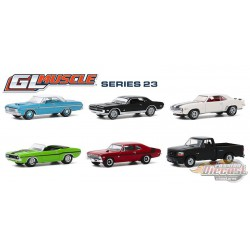 GL Muscle Series 23 Assortment  1-64  greenlight 13270 - Passion Diecast