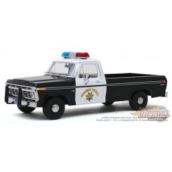 1975 Ford F-100 - California Highway Patrol - Greenlight 1/18 - 13550  -  Passion Diecast