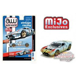 1965 Ford GT no1 Dirty Version - Auto World Mijo Exclusives 1:64 - CP7650 -  Passion Diecast