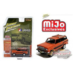 Jeep Wagoneer 4x4 Limited 1981- Johnny Lightning Mijo Exclusives 1:64 - JLCP7314