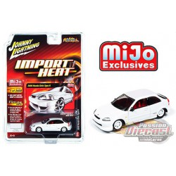 2000 Honda Civic Type-R  Blanche - Johnny Lightning Mijo Exclusives 1:64 - JLCP7310  -  Passion Diecast