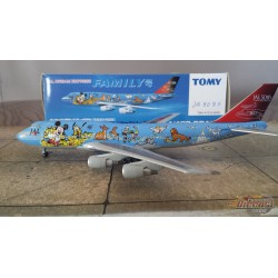 TOMY 1/400 Boeing 747-300 Japan Air Lines FAMILY Livery / JA-8083