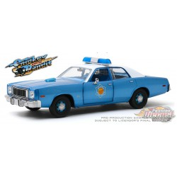 1977 Plymouth Fury -Arkansas State Police - Smokey and the Bandit -  Greenlight 1/24 , 84102 Passion Diecast