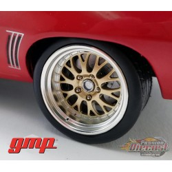 BIG RED PRO TOURING  MUSCLE CAR WHEEL & TIRE PACK  GMP 1/18 18946  - Passion Diecast