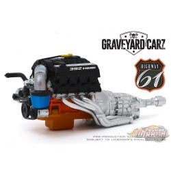 Custom Crate 392 HEMI  Engine and Transmission   -  HWY-61 1/18 - 18020  - Passion Diecast