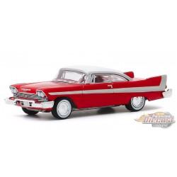 "1958 Plymouth Fury  Christine - Barrett-Jackson ""Scottsdale Edition""  Series 5 -  greenlight  1-64 - 37200 B -  Passion Diecast"