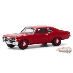 "1968 Chevrolet COPO Nova SS  - Barrett-Jackson ""Scottsdale Edition""  Series 5 -  greenlight  1-64 - 37200 C  -  Passion Diecast"
