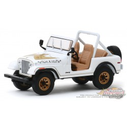 "1979 Jeep CJ-7 Golden Eagle ""Dixie"" - Duke of Hazzard -  Greenlight 1/43 86572 - Passion Diecast"