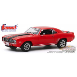 1969 Chevrolet Camaro - Summit Racing Equipment -  Greenlight 1/43 86342  - Passion Diecast