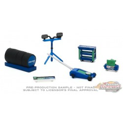 Falken Tires Shop Tool Accessories Pack Series 3  -  Greenlight 1/64 - 16060 A  -  Passion Diecast
