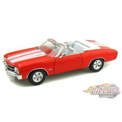 1971 Chevrolet Chevelle SS 454 orange -  Welly 1/24 - 22089  OR - Passion Diecast