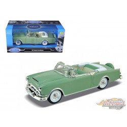 1953 Packard Caribbean Convertible Green  -  Welly 1/24 - 24016 GR   - Passion Diecast