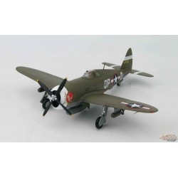 P-47D RAZORBACK  COL STEVE PISANOS,Miss Plainfield, 334TH FS 4TH FG USAAF, England, 1943 - Hobby Master 1/48 -  HA8450 A Passion