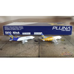 SMA 1/400 Pluna 2x Boeing 737-200 Set / CX-BOD & CX-FAT