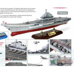 Porte-avions de type 001,PLAN, Liaoning, Mer de Chine méridionale, 2016 -  1:700 Forces of Valor - 861010B