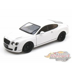 Bentley Continental Super Sports Coupe White  - Welly 1/18 - 18038 WH - Passion Diecast