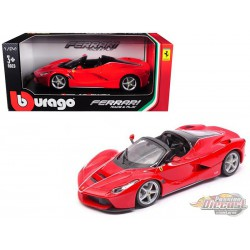Ferrari LaFerrari F70 Aperta Red -  Bburago 1/24 -  18 26022  RD - Passion Diecast