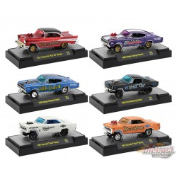 Auto Gassers Release 51  assortment M2 1/64 32600-51  -  Passion Diecast