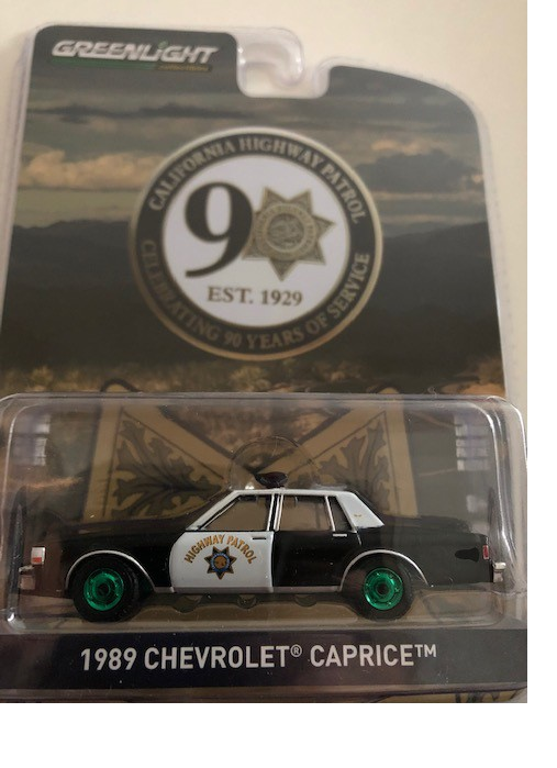Greenlight Anniversary Collection series 10 Caprice California Highway Patrol
