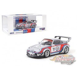 "Porsche RWB 993 Rough Rhythm ""Martini  no11 RAUH-Welt - Tarmac Works  1/64  - T64-017-MA -  Passion Diecast"