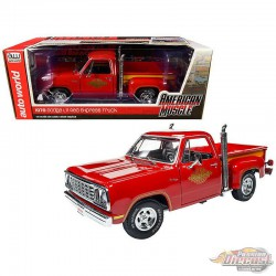 "1978 Dodge Pickup ""L'il Red Express Truck - Auto World / American Muscle 1/18 - AMM1194 -  Passion Diecast"