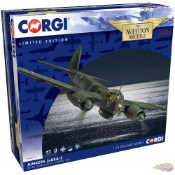 Junkers Ju 88A-5 Lufwaffe III./KG 51, 9K+ED, Winter, 1940 -  Corgi 1/72 AA36712  -  Passion Diecast
