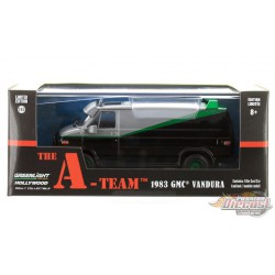 The A-Team (1983-87 TV Series) - 1983 GMC Vandura 1-43 GREENMACHINE GL 86515 GR