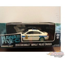 2010 Chevrolet Impala - Honolulu Police - Hawaii Five-O GREENMACHINE 1-43  86518 GR