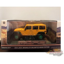 2013 Jeep Wrangler Unlimited - Moab Edition  1-43 GREENMCHINE GL-86067 GR
