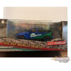 Jeep Wrangler MOPAR 2012 Off-Road Edition GREENMACHINE 86099 GR 1-43
