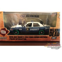 The Walking Dead TV Series Rick and Shane's 2001 Ford Crown Victoria Police Interceptor GREENMACHINE