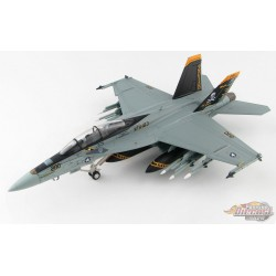 McDonnell Douglas F/A-18F Super Hornet USN VFA-103 Jolly Rogers, USS Lincoln, 75th Anniversary 2018 - Hobby Master 1/72 - HA5113