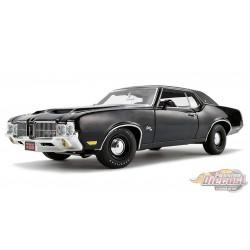 1971 Oldsmobile Cutlass SX  en triple noir - ACME 1/18 - A1805615  - Passion Diecast