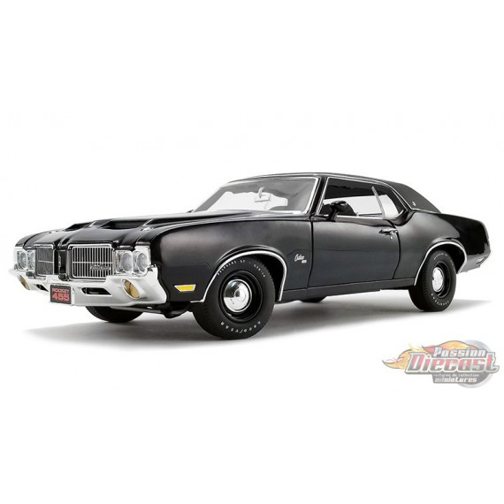 1971 Oldsmobile Cutlass SX in Triple Black - ACME 1/18 - A1805615  - Passion Diecast