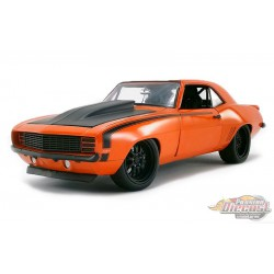 1969 Chevrolet Camaro Street Fighter - Inferno Orange  - Acme  Exclusive 1/18 - 18906 - Passion Diecast