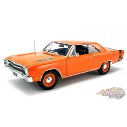 1969 Dodge Dart GTS 440 Hardtop  en orange -  Acme 1/18  A1806404 -  Passion Diecast