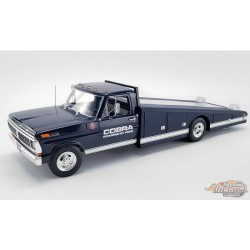 Ford F-350 1970 Camion à rampe  SHELBY Bleu,  ACME 1/18  A1801405  - Passion Diecast
