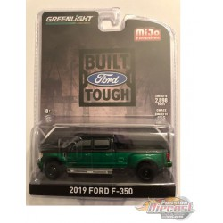 2019 Ford F-350 Dually (Black/Green) Mijo Exclusive 1-64 - 51318GR