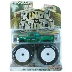 Bigfoot no 5 - 1996 Ford F-250 Monster Truck  Kings of Crunch 4 -  GREEN MACHINE   1-64 - 49040 EGR