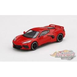2020 Chevrolet Corvette Stingray (Torch Red) -  MINI GT 1:64 - Mijo Exclusive - MGT00150 -  Passion Diecast