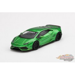 Lamborghini Huracan- LB Works Green -  MINI GT 1:64 - MGT00149  -  Passion Diecast