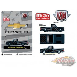 1973 Chevrolet Custom Deluxe 10 Squarebody Pick Up   - M2 Machine -MiJo Exclusives 1:64 - 31500-MJS27  -  Passion Diecast