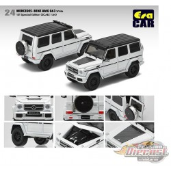 Mercedes-Benz G63 AMG -1st Special Edition White - Era  Car 1/64 - MB204X4RF24   -  Passion Diecast