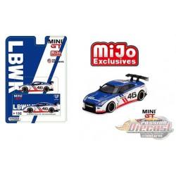 LB Works Nissan Skyline GT-R R35 No 46 Infinity Motorsport   -  MINI GT 1:64 - MGT00132 -  Passion Diecast