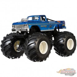 Bigfoot Monster Trucks   - Hot Wheels 1:24 - GBV32 -  Passion Diecast