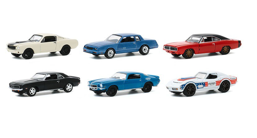 Inc Series 1-1966 Ford Mustang Fastback 1:64 Scale Greenlight ...