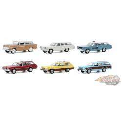 Estate Wagons Series 5 assortment 1/64 Greenlight 29990 -  Passion Diecast