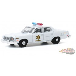 1974 AMC Matador - Hazzard County Sheriff - greenlight 1/64   Hobby Exclusif - 30177  -  Passion Diecast