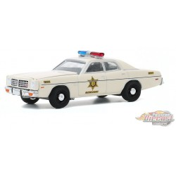 1975 Dodge Coronet - Hazzard County Sheriff -   greenlight 1/64   Hobby Exclusif - 30187 -  Passion Diecast