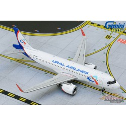 Ural Airlines Airbus A320neo - VP-BRX -  Gemini Jets 1/400 - GJSVR1910 -  Passion Diecast